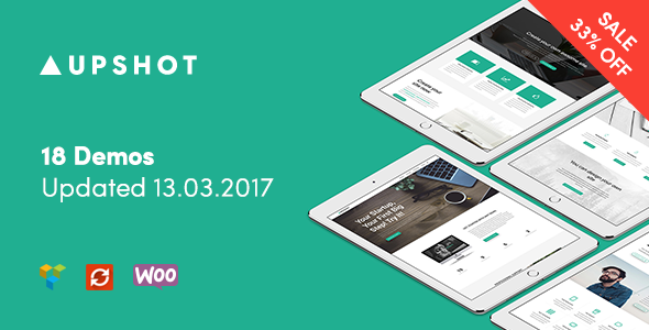 Upshot - Business Multi Purpose WordPress Theme