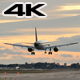 Commercial Aircraft Landing at Barcelona Airport - VideoHive Item for Sale