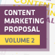 Content Marketing Proposal V2 - GraphicRiver Item for Sale