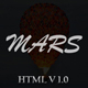Mars - Website Under Construction - ThemeForest Item for Sale