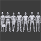 Lowpoly People Casual Pack Vol.6 - 3DOcean Item for Sale