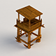 Wooden Tower - 3DOcean Item for Sale