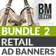 Retail Banner Ads - Bundle 2 - GraphicRiver Item for Sale