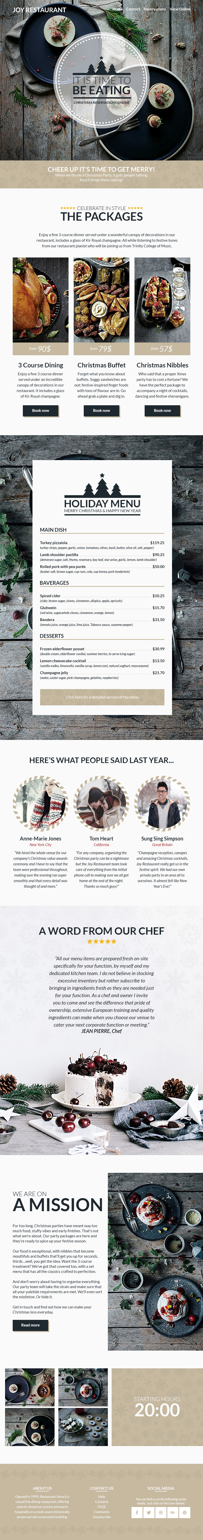 Joy - Christmas Email Template Bundle + Builder Access by BigBangThemes