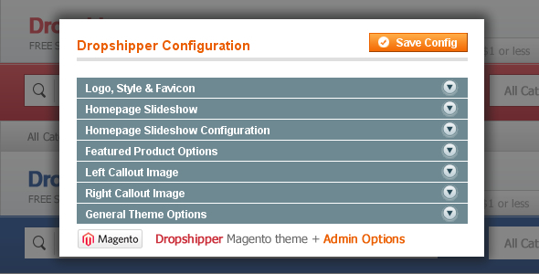 Dropshipper Magento Theme