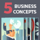 Business Concepts Illustrations - GraphicRiver Item for Sale