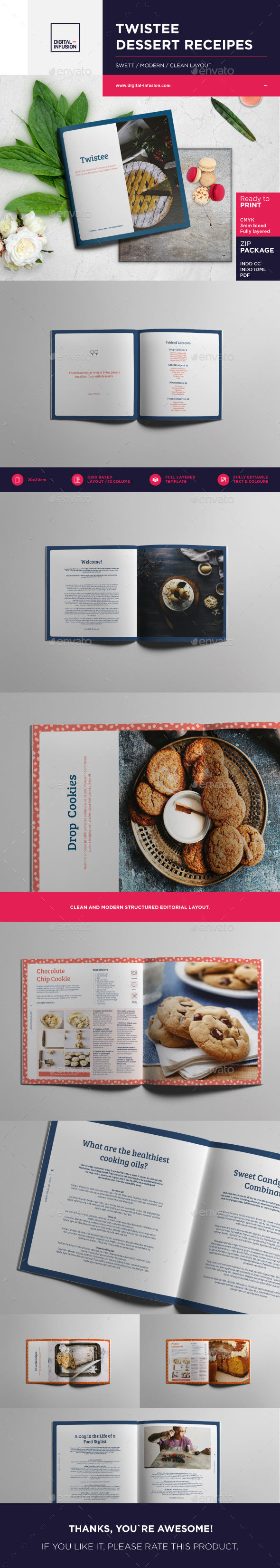 Twistee — Dessert Recipes Brochure - Catalogs Brochures