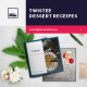 Twistee — Dessert Recipes Brochure - GraphicRiver Item for Sale