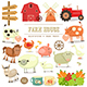 Farm Elements Collection - GraphicRiver Item for Sale