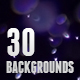 30 Dust Particles Backgrounds / Textures - GraphicRiver Item for Sale