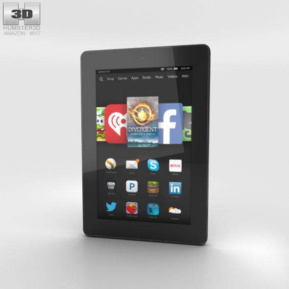 Amazon Fire HD 7 Black