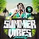 Summer Vibes Party Flyer Template - GraphicRiver Item for Sale