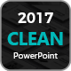Clean 2017 Powerpoint Template Nulled