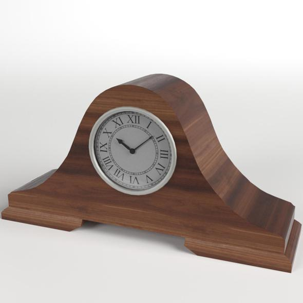 Fireside Clock 2 - 3DOcean Item for Sale