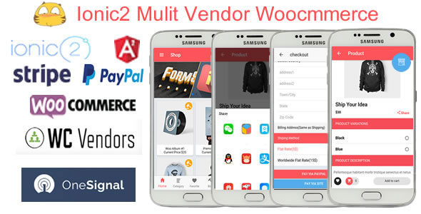 Ionic2WooMultiVendorStore - Ionic2 Multi Vendor Woocommerce App - CodeCanyon Item for Sale