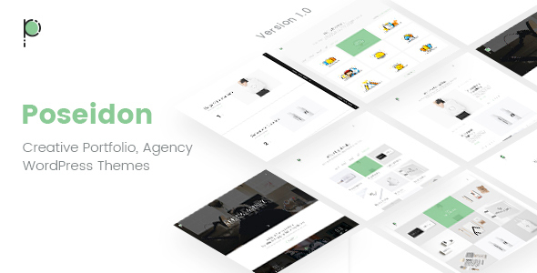 Poseidon | Creative Portfolio – Agency WordPress Theme