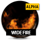Wide Fire With Alpha 01 - VideoHive Item for Sale