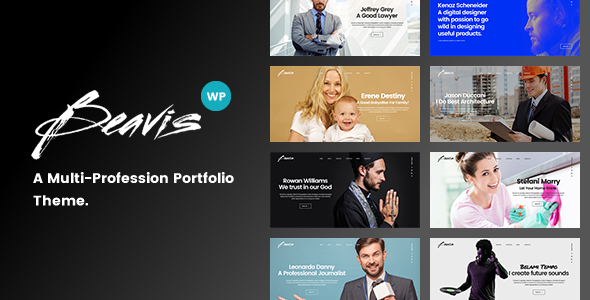 Beavis – Enterprise Multi-Purpose WordPress Theme
