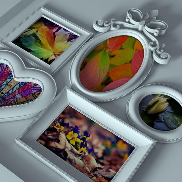Photo Frame Mock up - 3DOcean Item for Sale