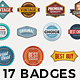 17 Badges - GraphicRiver Item for Sale