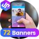 Mobile Apps Banner Pack - GraphicRiver Item for Sale