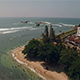 Flyover Lighthouse Beach - VideoHive Item for Sale
