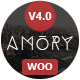 Amory Blog - A Responsive WordPress Blog Theme Nulled