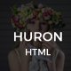 Huron - Clean & Elegant Blog HTML - ThemeForest Item for Sale