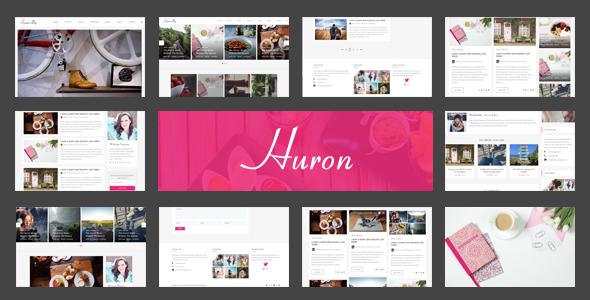 Huron – Clean & Elegant Blog HTML