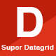Super Datagrid - jQuery Datagrid for Laravel & Codeigniter - CodeCanyon Item for Sale
