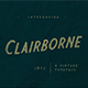 Clairborne - GraphicRiver Item for Sale