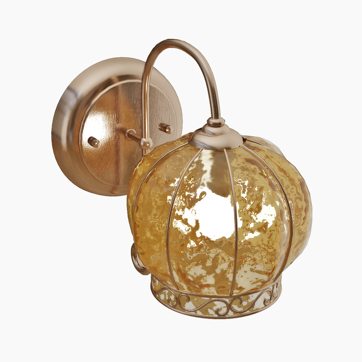 Бра Arte Lamp Venezia A2106AP-1AB