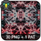 Kaleidoscopic Art Patterns 3 - GraphicRiver Item for Sale
