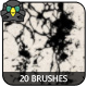 20 Ink Splatter Brushes - GraphicRiver Item for Sale