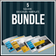Square Brochure Template Bundle - GraphicRiver Item for Sale