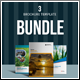 12 Pages 3 Brochure Template Bundle - GraphicRiver Item for Sale