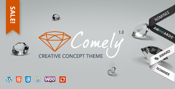 Comely | Creative Concept Theme - Corporate WordPress