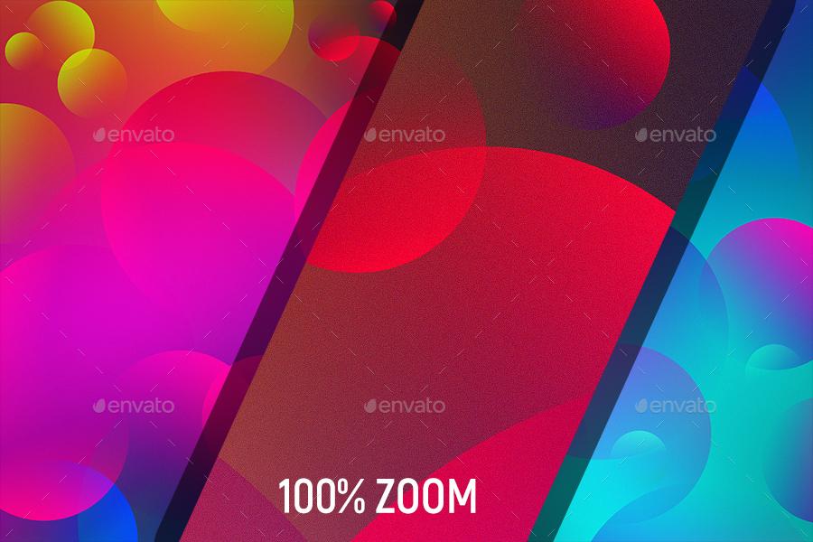 Colorful Bubbles Background