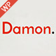 Damon - Resume, Personal, CV, vCard WordPress Theme Nulled
