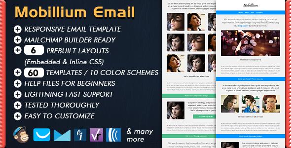 Mobillium - Responsive Email Newsletter