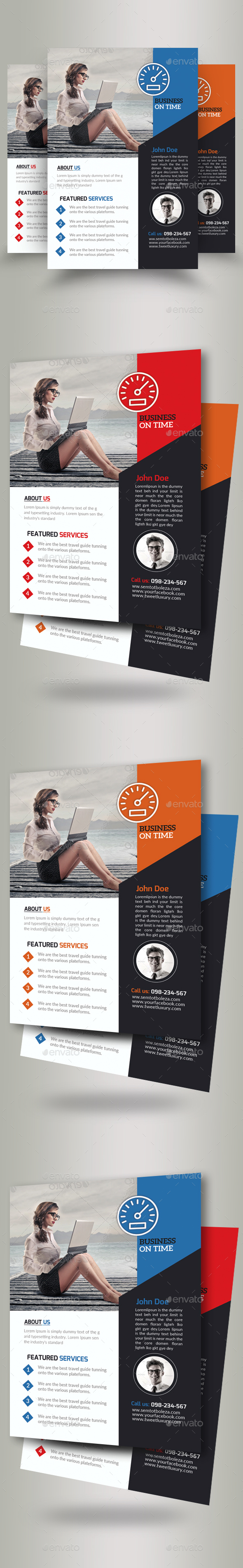 Business Motivation Flyer Template - Corporate Flyers