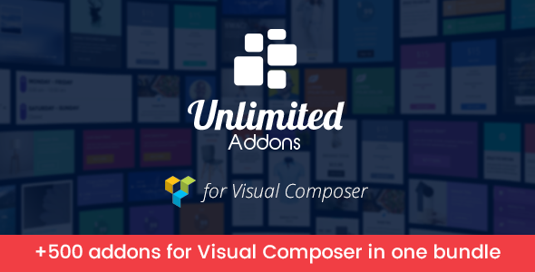 Unlimited Addons for Visual Composer - CodeCanyon Item for Sale