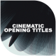 Cinematic Opening Titles - VideoHive Item for Sale