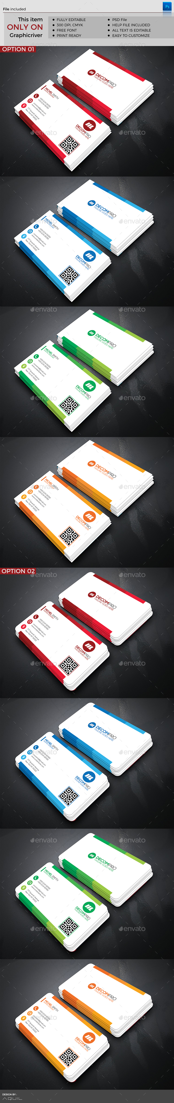 Corporate Business Card by kreatbox