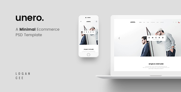Unero – Minimal eCommerce PSD Template