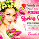 Spring Queen Party Flyer vol.2 - GraphicRiver Item for Sale