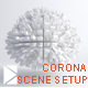 Corona studio scene setup - 3DOcean Item for Sale