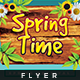 Spring Time Summer - Flyer Template - GraphicRiver Item for Sale