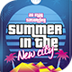 Summer in The New City Flyer