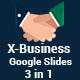 X-Business 3 in 1 Google Slides Template Bundle - GraphicRiver Item for Sale